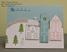 Stamping in the Mail Class - September 2014 - Holiday Home I'm crazy for the little light bulbs!!!