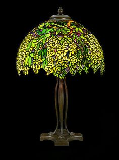 Tiffany table lamp by Louis Comfort Tiffany