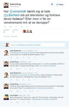 Åhh politikere #dkpol på Twitter er en børnehave. Politikerne bitcher, vælgerne gider ikke høre på det  https://twitter.com/Astridkrag/status/517571574388752384
