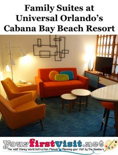 Six Person Family Suites at Cabana Bay Beach Resort at Universal Orlando --yourfirstvisit.net