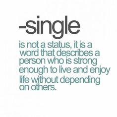Single is not a status   - Follow me on Instagram --> https://instagram.com/SydesJokes/