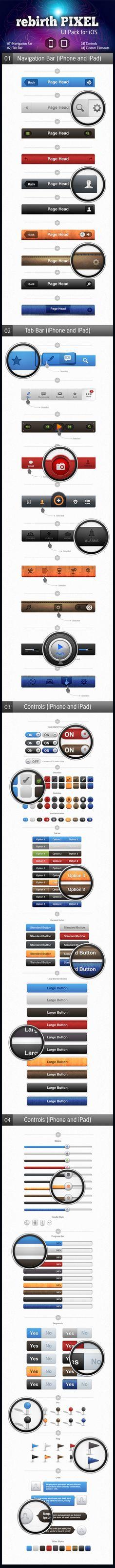 UI Design Kit for iOS