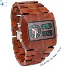 Buy a wooden made wrist #watch At WeWood Coupon & Promo Codes View Detail:http://bit.ly/1hhM241  lavishcoupon.com/wewood-coupon-codes.html