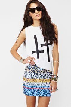 Wild Stripe Skirt  http://www.nastygal.com/whats%2Dnew/wild%2Dstripe%2Dskirt?utm_source=pinterest_medium=smm_campaign=pinterest_nastygal