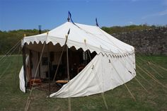 Tentsmiths | Historical Period Tents -great site for figuring out what type of tent you want!