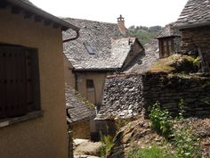 Fantastic stone roofs