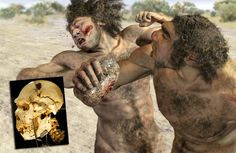 Miguelón El primer crimen conocido fue un homicidio involuntario.  La víctima fue Miguelón (también conocido como Cráneo nº5 de Homo heidelbergensis) Con probabilidad este prehistórico humano, un varón de unos treinta y tantos años, fue agredido con una piedra por un congénere.