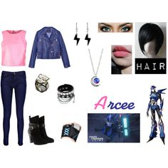 """Transformers: Arcee"" by thenat1 on Polyvore"