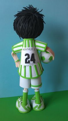 Jugador del Real Betis Fondant Hair, Biscuit, Best Wordpress Themes, Creative, Artist, Sport, Baby Showers, Hair Styles, Plastic Craft