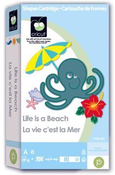 Life is a Beach Cricut Cartridge
