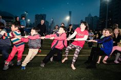 #FamilyFunDay #TugofWar #ChunkyOnion #HK