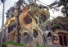 Hang Nga guesthouse - by Dang Viet Nga