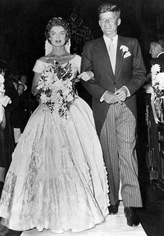 These Rare Photos From JFK And Jackie's Wedding Were Found In A Darkroom