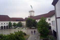 Blick in den Hof der Burg  #Ljubljana #Laibach #Slowenien
