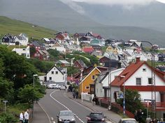 miðvágur, faroe islands.
