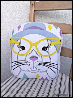 hand painted pillow / kubek ręcznie malowany https://www.facebook.com/Cudawianki