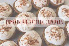 Make These Protein-Packed Pumpkin Pie Cupcakes as a Pre-Workout Snack