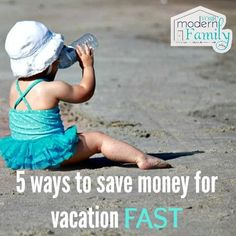 5 ways to save money for vacation    ok- I LOVE #2!!!