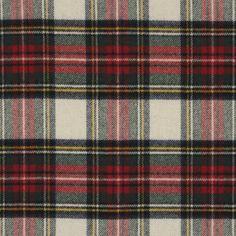 Maclean Tartan – Winter White - Tartans - Fabric - Products - Ralph Lauren Home - RalphLaurenHome.com