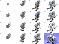 lego lex luthor robot instructions