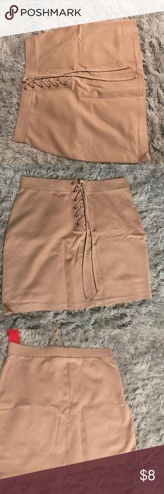 Skirt from Forever21 Size Large. Brand new tight fitting mini skirt. Never worn before Forever 21 Skirts Mini
