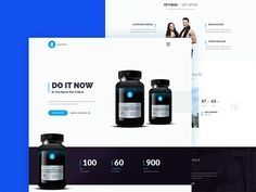 Adele is a psd template that you can use to create a product landing page. The design is clean, responsive and was made using a Bootstrap grid. This freebie was designed and released by Hafijul Islam.