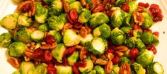 Pecan Cranberry Brussels Sprouts-for post