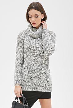 Marled Turtleneck Sweater   FOREVER21 - 2000119838