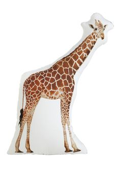 Because It's A Giraffe Pillow cool
