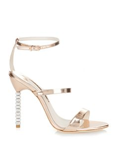 Rosalind crystal-embellished leather sandals | Sophia Webster | MATCHESFASHION.COM US