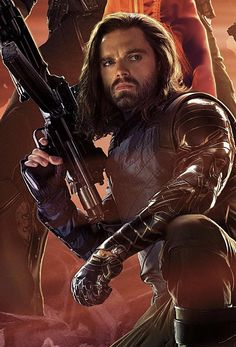Just noticed you can see Sebastian Stans left wrist in the high-res Infinity War poster