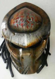 Predator Motorcycle Helmet by DieHard