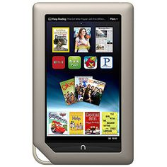 """Barnes and Noble NOOK with WiFi 7.0"""" Touchscreen Tablet PC Featuring Android-Based Operating System, Refurbished"""