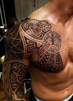 45 Amazing Polynesian Tattoos for Men (1)