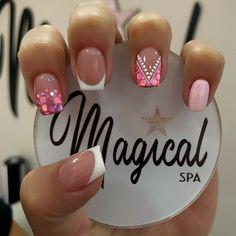 Mani Pedi, Pedicure, Pink Leopard Nails, Fire Nails, Best Acrylic Nails, Nagel Gel, Nail Spa, Short Nails, Christmas Nails