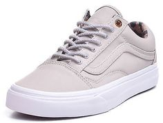 4b4601d114 Vans Old Skool Reissue Coated Twill Taupe Cheetah Lining Classic Low Top  Shoes