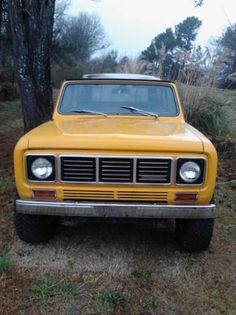 My 1976 IH Scout II currently in yellow.