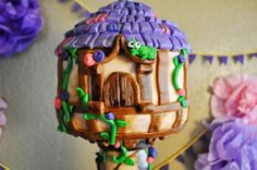 """The """"cake"""" part of the cake (tangled)"""