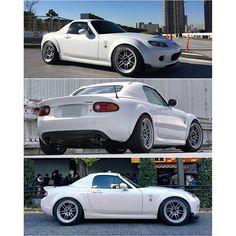 @okamochiko #enkei #rpf1 #nopro #japan #jdm TopMiata.com | #TopMiata #mazda #miata #mx5 #eunos #roadster