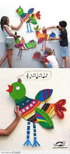 Wielkihttp://krokotak.com/2015/08/big-cardboard-birds/e… na Stylowi.pl