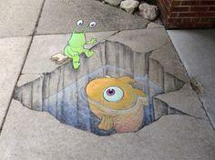 David Zinn, Street Artist