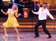 "Witney Carson & Alfonso danced a jazz routine he did on ""The Fresh Prince of Bellaire"" - Dancing With the Stars - Season 19 - week 4 Most Memorable Year - Fall 2014"