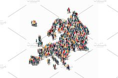 people map country Europe vector. Travel Infographics