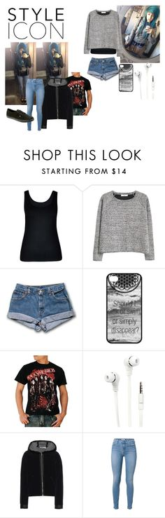"""Alex Dorame"" by dedice ❤ liked on Polyvore featuring City Chic, MANGO, Merkury Innovations, T By Alexander Wang and Vans"