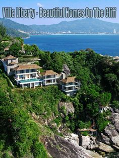 Villa Liberty is an awe-inspiring, luxury, six bedroom pool villa situated on the Kamala headland – one of Phuket's most exclusive addresses on the famed... #travel #design #architecture #luxury