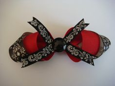 Black Vintage Bow