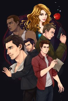Okay, that looks like a lets-sovle-murders-and-be-happy-about-it kind of show and not TW where half of the cool heroes are killed within a season, it's just so positive Erica Reyes, Teen Wolf Fan Art, Sterek Fanart, Peter Hale, Teen Wolf Funny, Wolf Love, Wolf Pictures, Allison Argent, Disney Fan Art