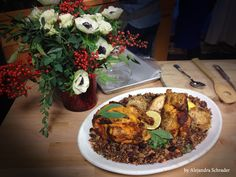 Looking to shake things up these Holidays? Roast cornish hens and serve them with a delicious quinoa pilaf for a gluten-free, low-carb option!