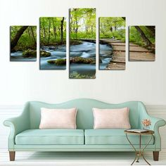 Path To Paradise Multi Panel Canvas