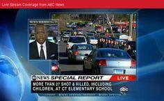 Twenty seven or more dead in elementary school in Newtown, CT. Updates: http://abcn.ws/QYDeWM